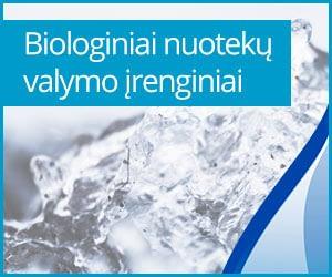 Biologiniai nuotekų valymo įrenginia